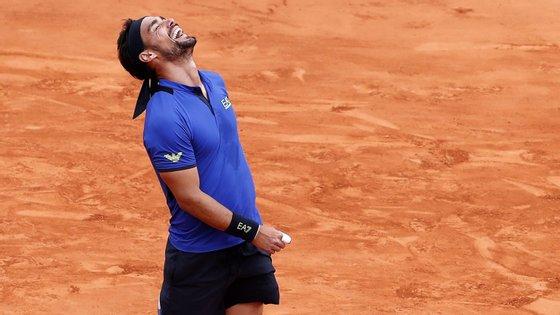Fognini, número 18 no ranking da ATP, 'despachou' Nadal em uma hora e 37 minutos