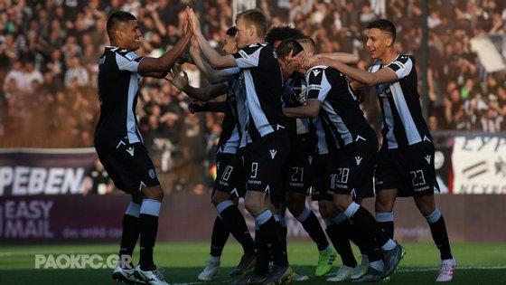 O PAOK só precisava de um empate mas acabou por golear o Levadiakos