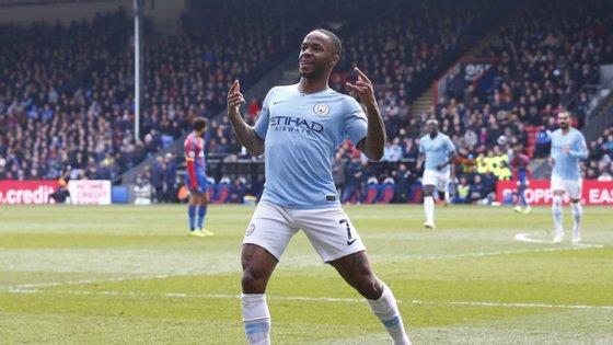 O extremo de 24 anos atua pelo campeão Manchester City