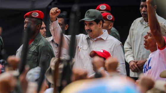 """""""Não quero conversa fiada, nem perda de tempo. Ideias concretas para linhas de avanço"""", sublinhou Maduro"""