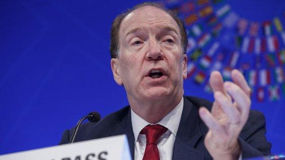 David Malpass assumiu a liderança do Banco Mundial a 9 de abril