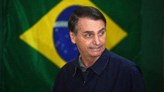 Jair Bolsonaro foi eleito presidente do Brasil em outubro de 2018