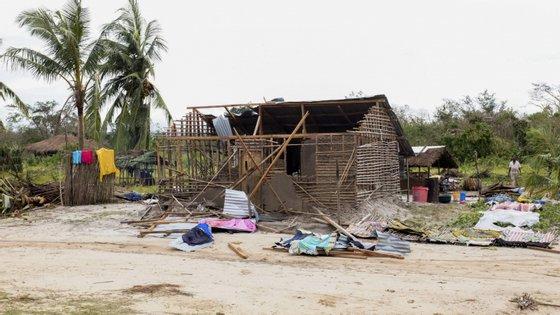 O ciclone Kenneth foi o primeiro, desde que há registos, a atingir o Norte de Moçambique