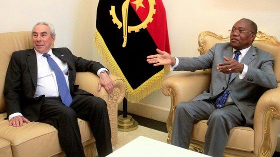 Francisco Ribeiro Telles faz uma visita de dois dias a Angola