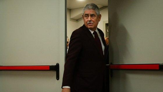 Luís Filipe Vieira não poupou críticas ao VAR Fábio Veríssimo na zona mista do Municipal de Braga após a meia-final da Taça da Liga