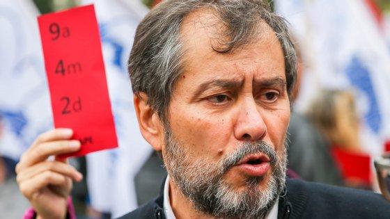 """Mário Nogueira, secretário-geral da Fenprof, diz que a aprovação """"é já uma vitória dos professores"""""""