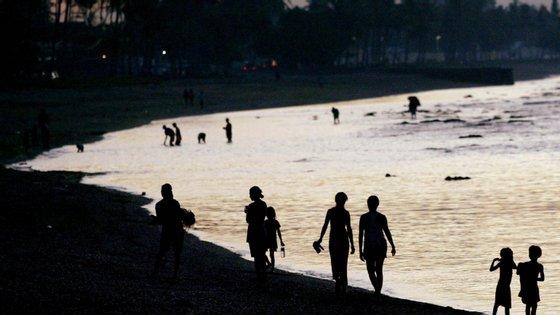 """""""As chuvas fortes têm o potencial de causar deslizamentos de terra nas áreas montanhosas de Timor-Leste"""", refere o BOM"""