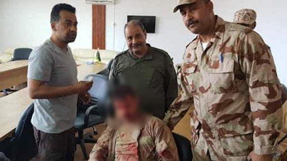 """""""Jimmy Reis, um piloto alegadamente português terá sido capturado e detido pelo autodenominado Exército Nacional da Líbia"""