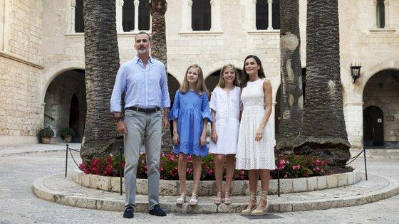 A Rainha Letizia destacou que as filhas são leitoras assíduas