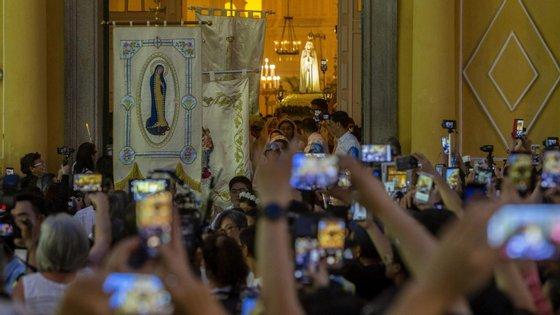 O número de participantes nas festividades aumenta de ano para ano