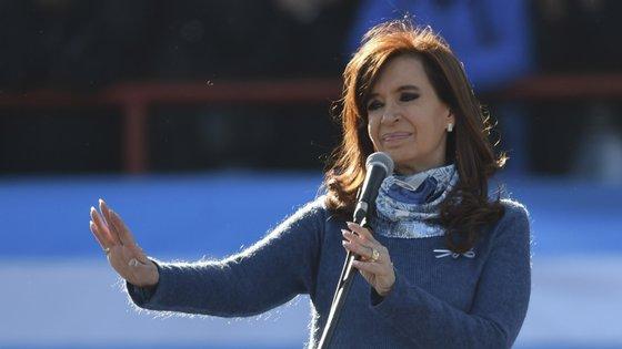 Cristina Kirchner foi Presidente entre 2007 e 2015 e é senadora desde 2017
