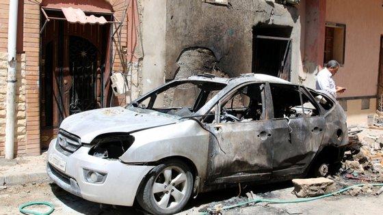Os combates já provocaram desde 4 de abril mais de 510 mortos e 2.467 feridos