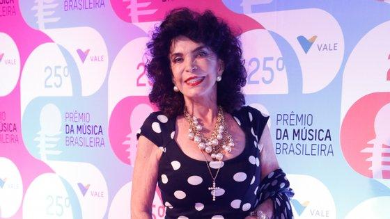 Lady Francisco no 25º Prémio da Música Brasileira, em 2014