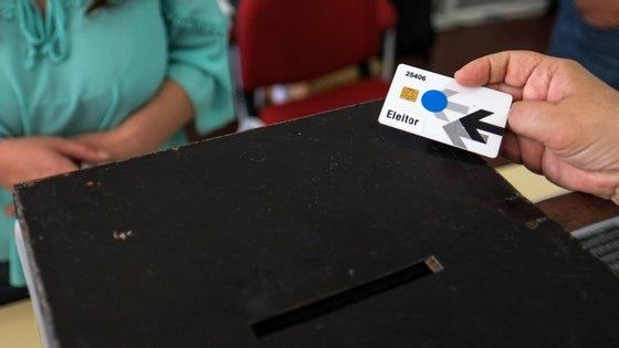 Das 232 mesas de voto no distrito de Évora, 50 são eletrónicas