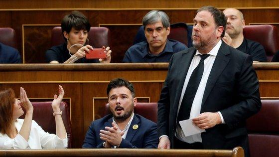 O Ministério Público defende que houve delito de rebelião, um crime contra a Constituição espanhola com penas que podem ir até 25 anos de prisão