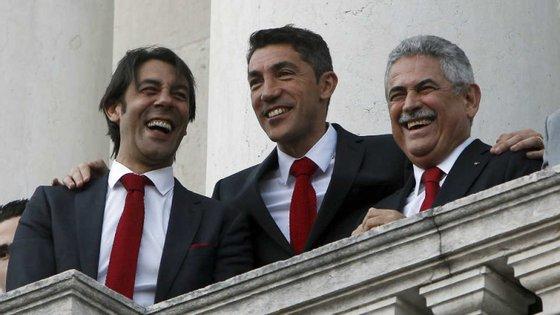 Costa, Lage e Vieira: os três vértices do Benfica que têm como objetivo a conquista da Liga dos Campeões