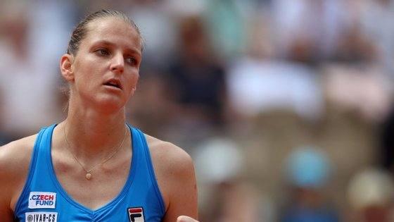 Na próxima ronda, Pliskova, segunda da hierarquia mundial, vai defrontar a vencedora do encontro entre a croata Petra Martic