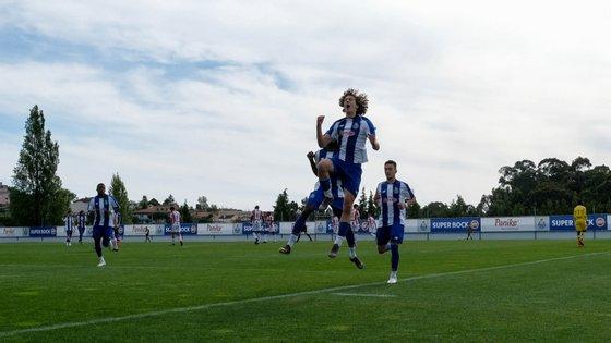 Fábio Silva não marcou frente ao Sp. Braga mas fez uma assistência e terminou como melhor marcador do Campeonato (28 golos)