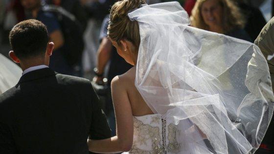 Casamentos estavam na mira da Autoridade Tributária