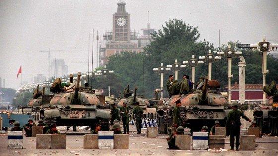 O massacre de Tiananmen continua a ser um dos assuntos mais censurados da Internet chinesa
