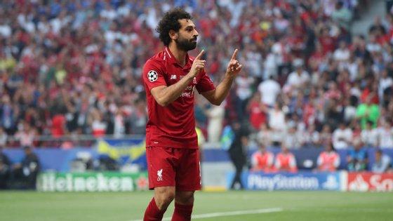 O avançado tornou-se o primeiro egípcio a marcar no último jogo da Champions