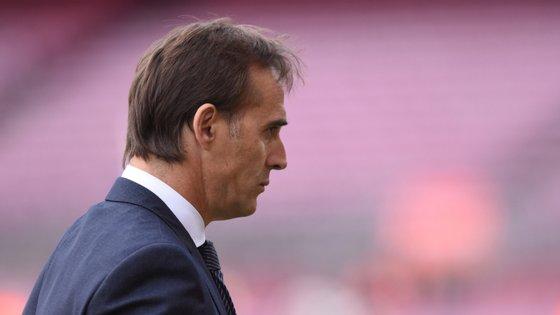 Depois de Rayo Vallecano (2003) e Real Madrid (2018), Lopetegui terá a terceira experiência no Campeonato de Espanha
