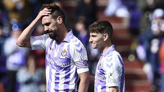 Borja Fernández, capitão do Valladolid que terminou esta época a carreira, é um dos implicados pela justiça espanhola