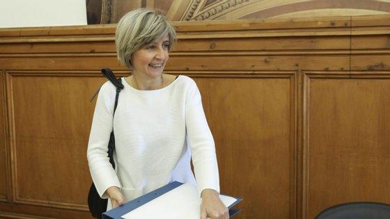 Requerimento para ouvir ministra foi efetuado pelo Bloco de Esquerda.