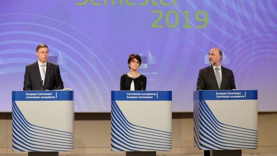 Esta recomendação será debatida pelo Conselho de ministros das Finanças da União Europeia