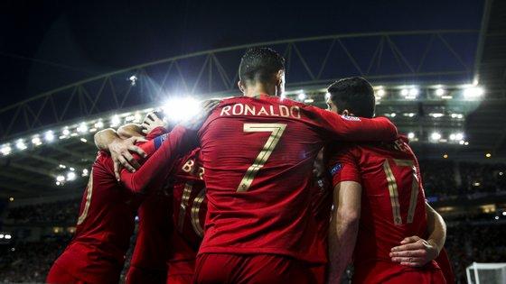 O capitão português estreou-se na Liga das Nações, já que falhou toda a fase de grupos