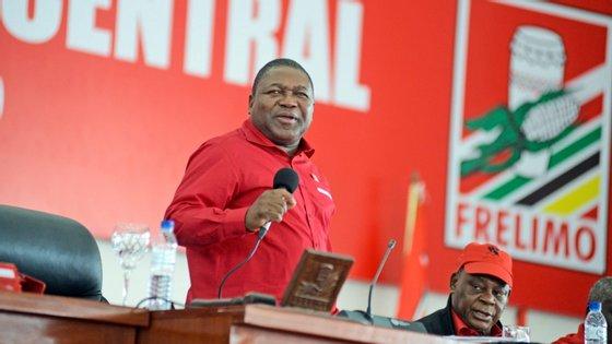 Nyusi apontou como prioridade da candidatura a luta contra a corrupção
