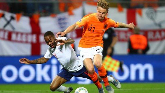 Frenkie De Jong voltou a ter uma exibição gigante a meio-campo, com 96% de eficácia de passe em 113 minutos de jogo