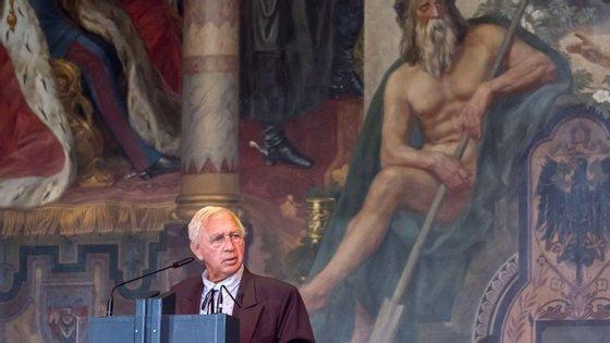 O artista norte-americano venceu o Leão de Ouro de carreira da Bienal de Arte de Veneza este ano