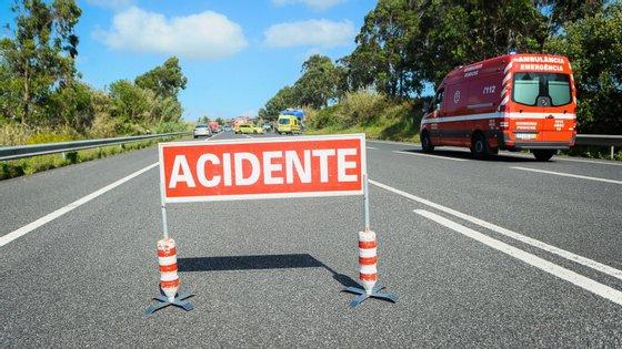 A jovem foi encaminhada pelos bombeiros para o Hospital de São João, no Porto.