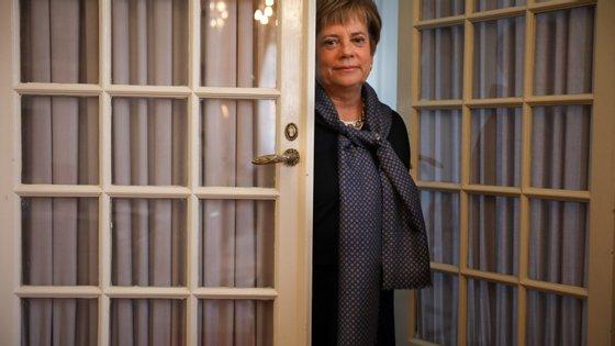As declarações de Maria Lúcia Amaral surgiram esta quarta-feira no Parlamento