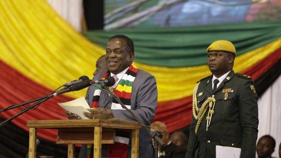 Emmerson Mnangagwa quer parceria com Maputo