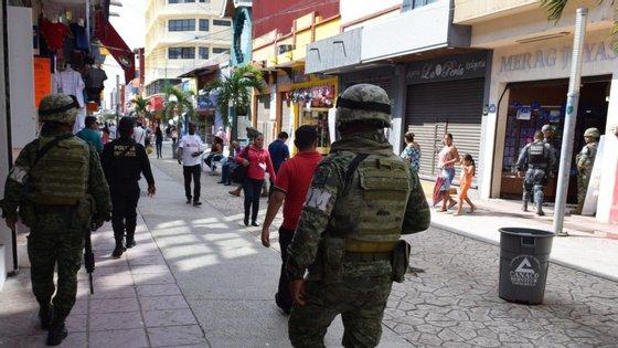As zonas com mais homicídios em maio foram os Estados de México, Baixa Califórnia, Jalisco, Chihuahua e Guanajuato