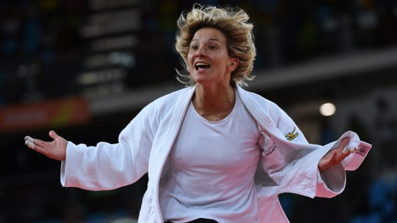 Telma Monteiro, de 33 anos, procurava o sexto título de campeã da Europa