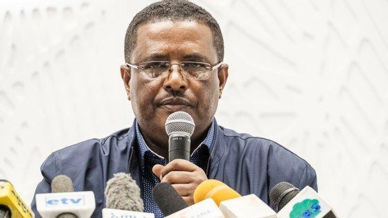 Porta-voz do primeiro-ministro etíope comunicou os acontecimentos deste domingo, que provocaram a morte do chefe do Exército e do presidente da região de Amhara