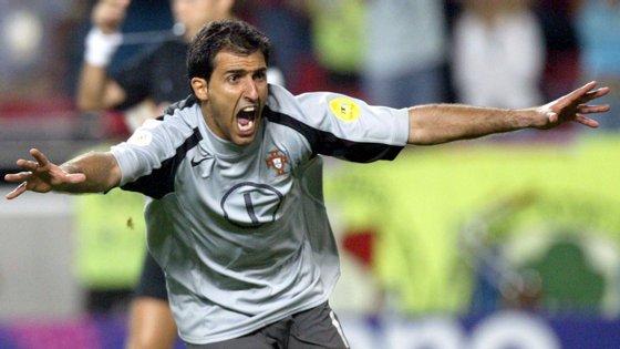 O então guarda-redes do Sporting foi o herói dos quartos de final do Euro 2004