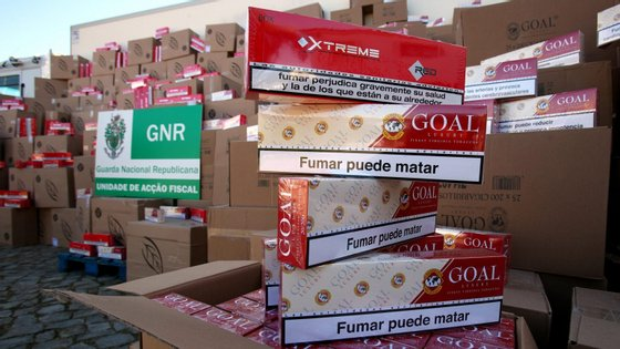 Tabaco apreendido era suficiente para introduzir no mercado cerca de 46 milhões de cigarros