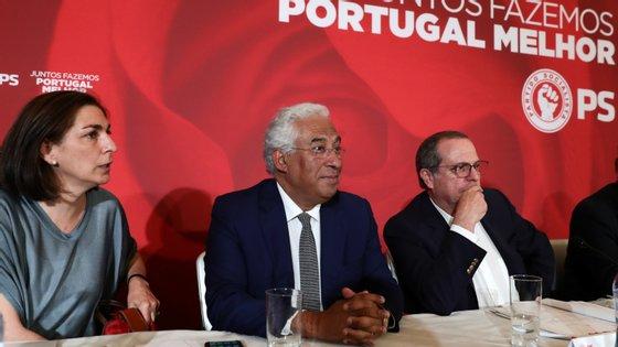António Costa reuniu ontem a Comissão Nacional do PS para aprovar os critérios para a escolha de candidatos às legislativas