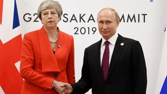 O encontro ficou marcado pela frieza entre os dois líderes mundiais