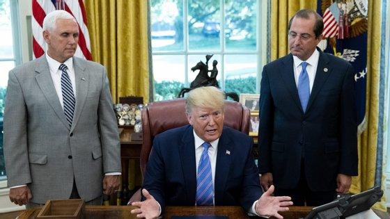 Trump expressou satisfação com a proposta, mas tornou claro que está insatisfeito com a imigração indocumentada nos EUA