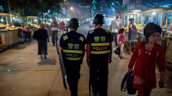 Xinjiang é uma região autónoma no noroeste da China, por onde passava a rota da seda