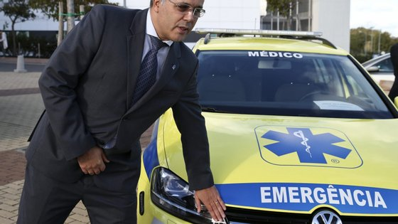 Luís Meira é presidente do INEM desde 2016