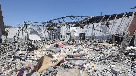 """Vários diplomatas acentuam que """"os EUA não querem uma resolução"""" que critique a ofensiva de Haftar"""