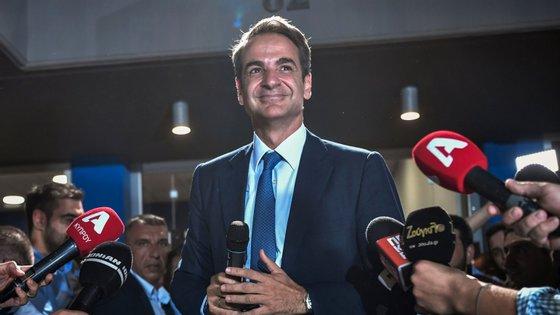 Kyriakos Mitsotakis venceu as eleições com maioria absoluta e é o novo primeiro-ministro da Grécia