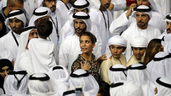 Fontes próximas da princesa negam que o romance fosse real, mas os ciúmes do emir eram verdadeiros