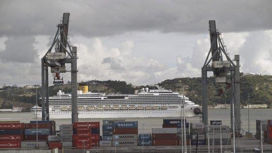 O aumento deve-se ao crescimento de passageiros em 'turnaround' (navios com partida e chegada a Lisboa, e não apenas em escala)